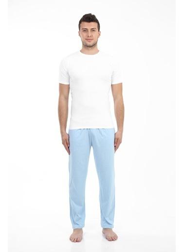 Akbeniz Pijama altı Mavi